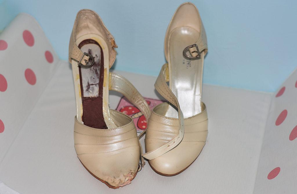 Pantofii de la nunta