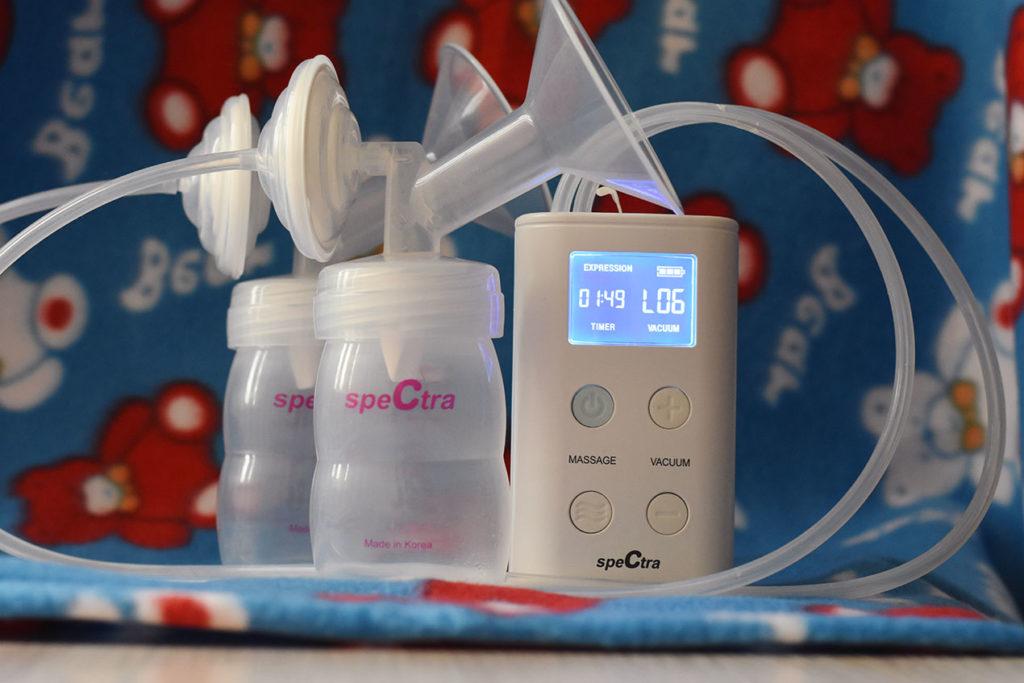 Pompa de san electrica dubla 9+ de la SPECTRA