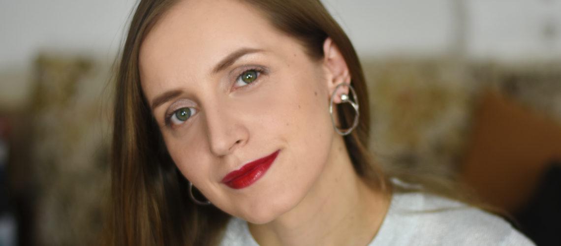 Machiaj De Zi Cu Ruj Rosu Daily Beauty Routine Cristinacandearo